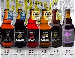 Pack 12 Cervezas Cerex
